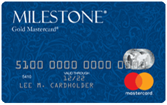 Milestone® Mastercard® – Bad Credit Considered