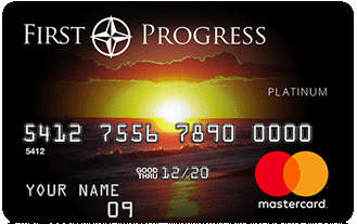 The First Progress Platinum Select MasterCard