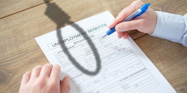 apply for unemployment benefits
