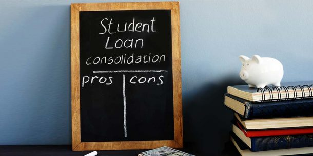 pros and cons of consolidating student loans