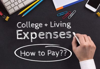 how to pay for living expenses while in college