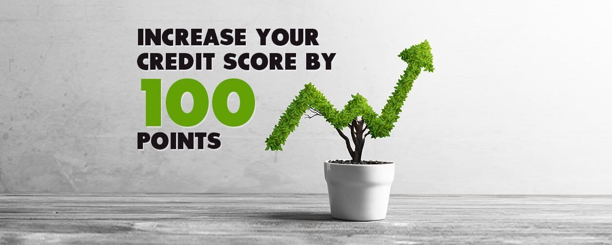 how to increase credit score by 100 points overnight