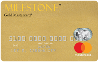 Milestone® Mastercard® – Bad Credit Considered